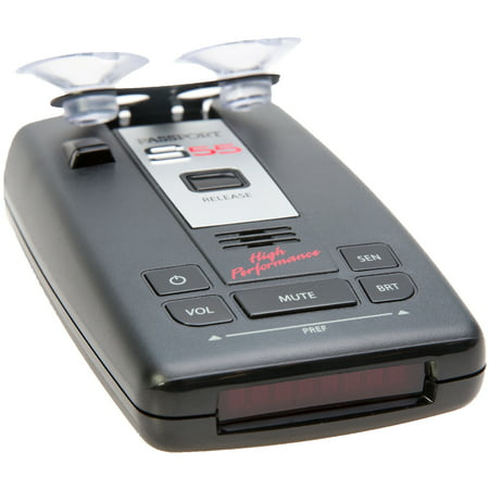 Escort Passport S55 High Performance Pro Radar and Laser Detector w/ (Best Undetectable Radar Detector)