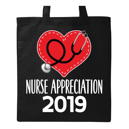 Nurse Tote Bag (2019 Nurse Appreciation Week Gift Tote Bag Black One)