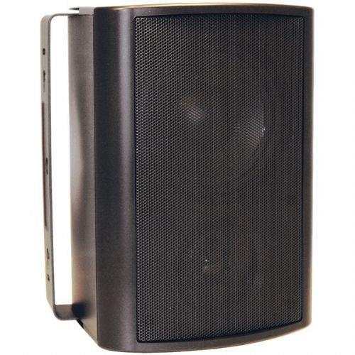 """OEM SYSTEMS IO-510-B 5.25"""", 2-WAY INDOOR/OUTDOOR SPEAKERS (BLACK)"""