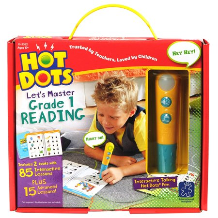 Educational Insights Hot Dots Jr Let's Master Grade 1 Reading with Talking - Maracas Online Shopping