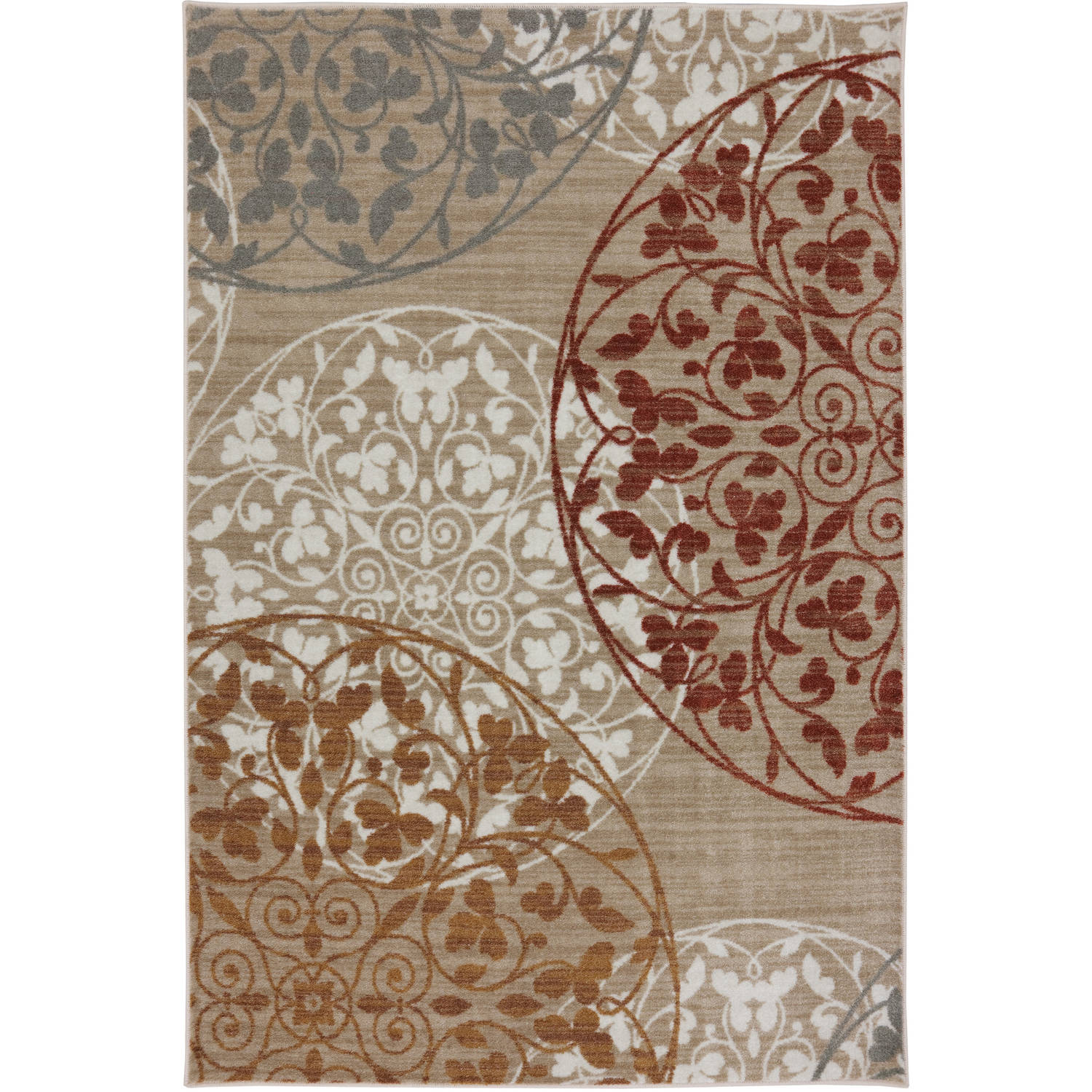 Mohawk Home Medallion Printed Area Rug