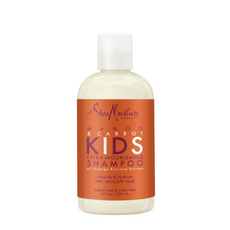SheaMoisture Extra-Nourishing Shampoo Mango Carrot, 8 oz 8 Oz Shea Butter Shampoo