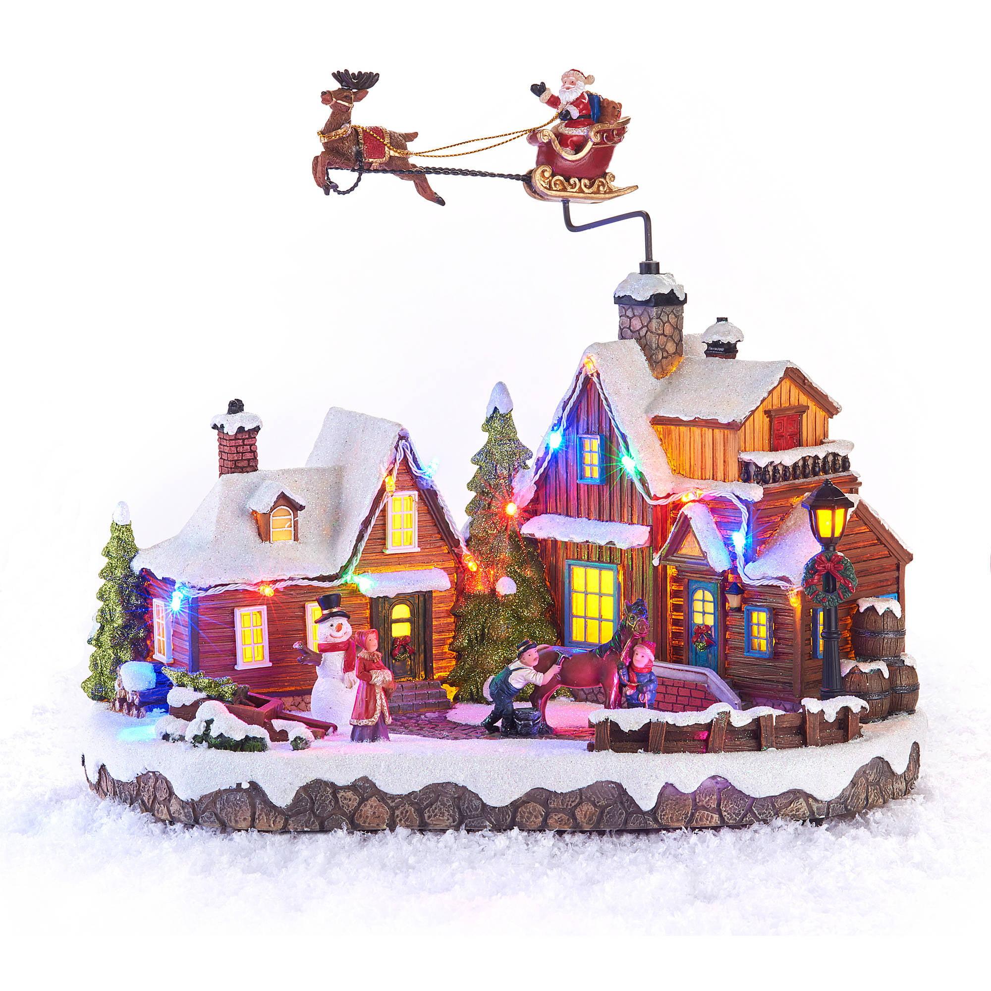 Flying santa fibre optic christmas decoration - Flying Santa Fibre Optic Christmas Decoration Flying Santa Fibre Optic Christmas Decoration Holiday Time Christmas