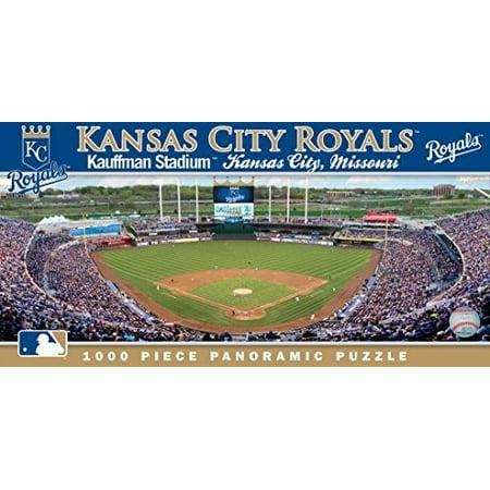 MasterPieces MLB Kansas City Royals 1000 Piece Stadium (Baseball) Panoramic Jigsaw Puzzle ()