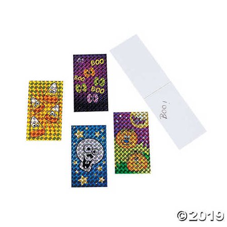 Printable Halloween Stationery (Halloween Prismatic Notepads (72 Pack) - Stationery & Stationery)