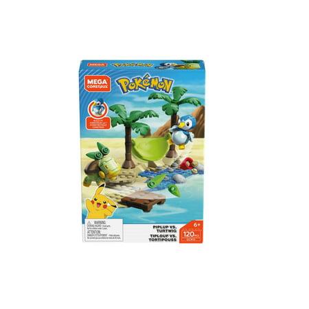 Mega Construx Pokemon Battle Pack - Piplup vs.