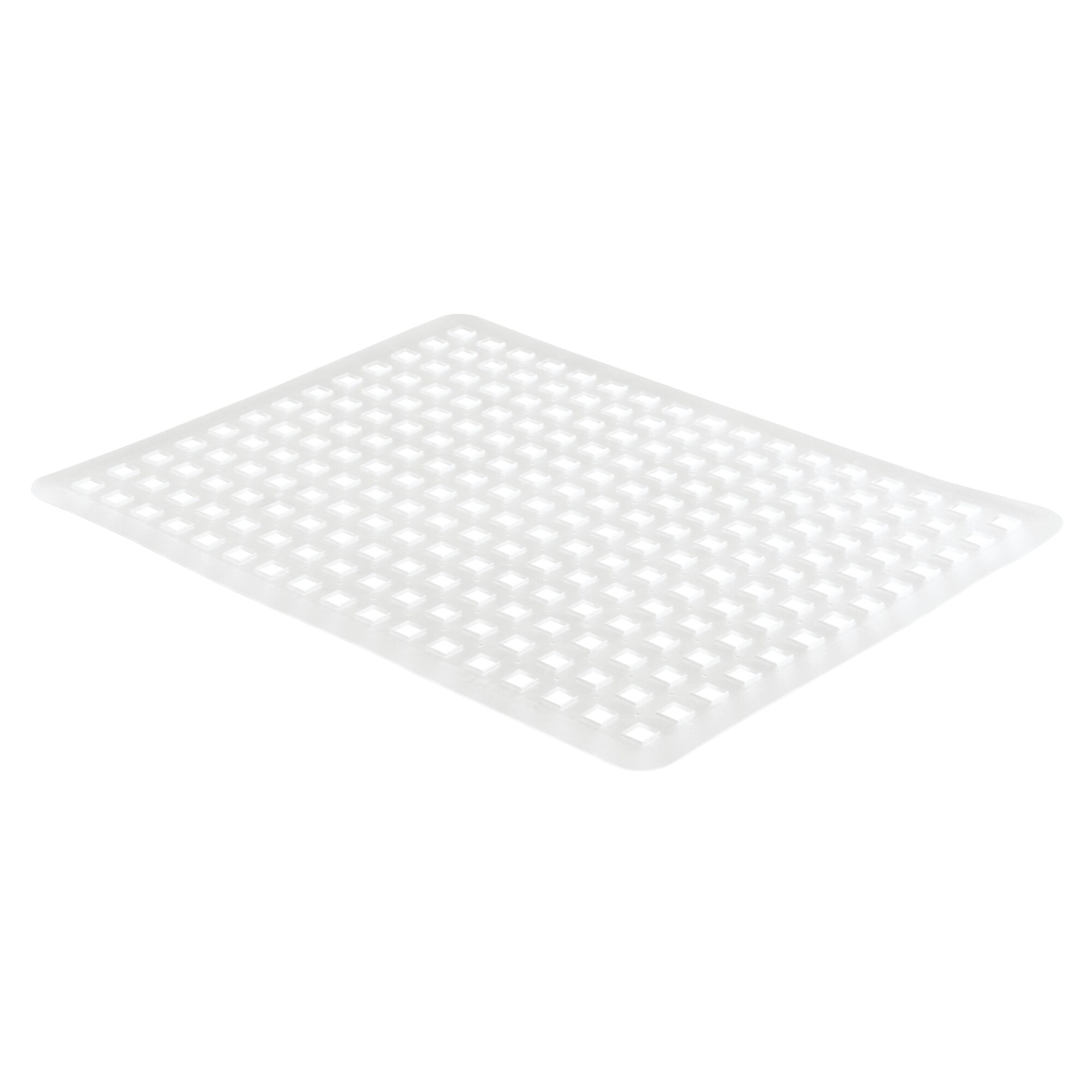 Brown Customisable Size Sink Cover Set Plastic Sink Mat Set to Protect Sinks and Dishes from Damage mDesign Set of 3 Sink Protector