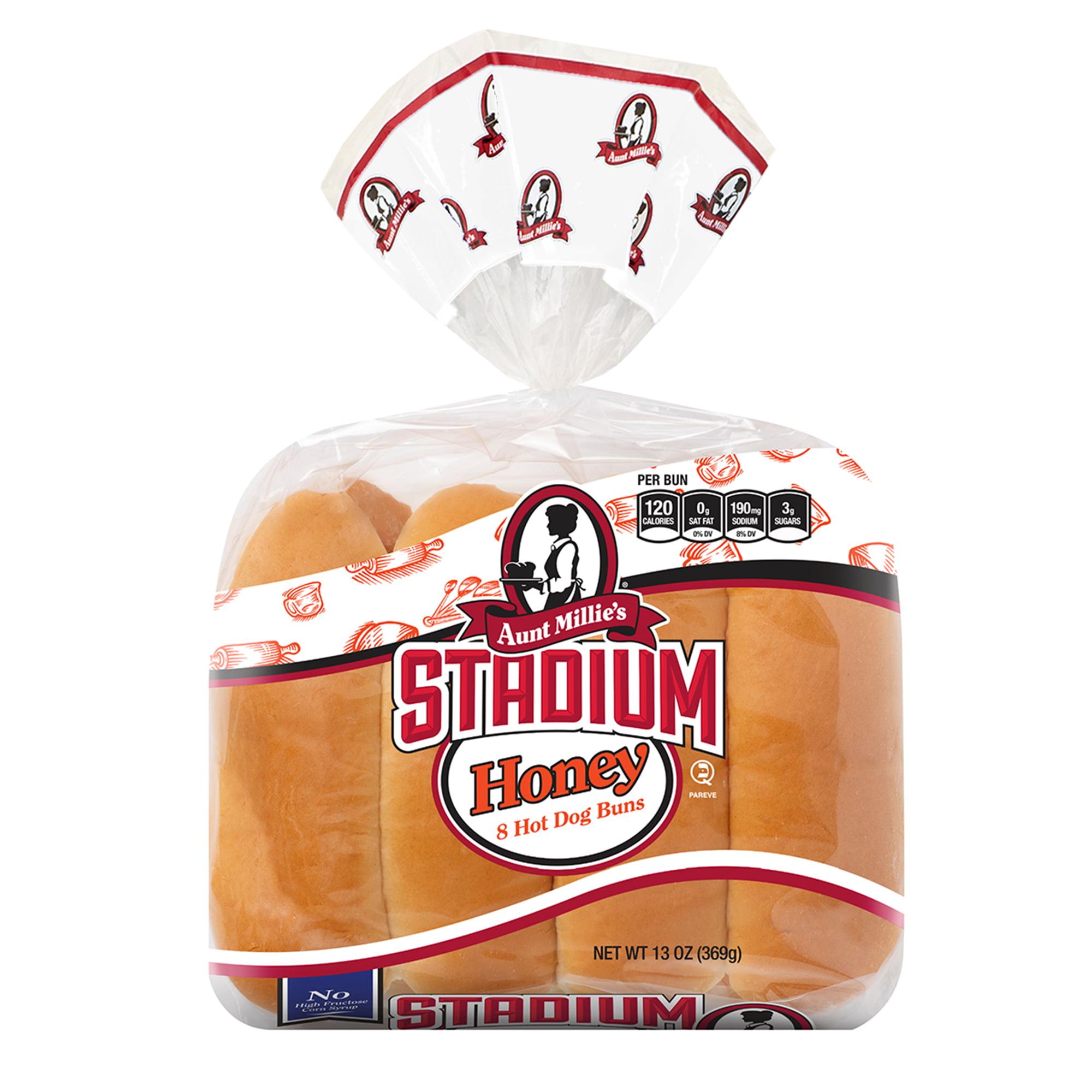 Sunbeam Hot Dog Buns 12 ct Bag - Walmart.com