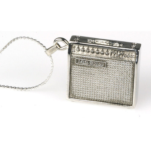 Harmony Jewelry Mesa Boogie Amp Necklace in Silver
