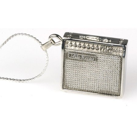Mesa Boogie Amp Necklace in Silver