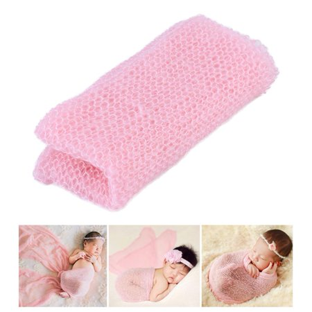 Pink Great Photo (Baby Photography Prop,Newborn Baby Photography Wrap-Baby Photo Props Favors Baby Girl Boy Hollow Wraps)