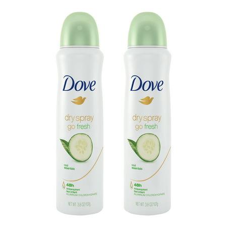 Dove Deodorant Coupons - (2 Pack) Dove Dry Spray Antiperspirant Deodorant Cool Essentials 3.8 oz