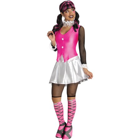 Monster High Draculaura Adult Halloween Costume](Monster High Costumes From Party City)