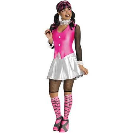 Monster High Draculaura Adult Halloween Costume - Cookie Monster Halloween Costume Adults