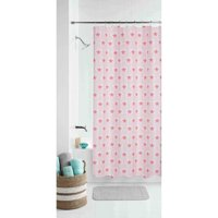 Mainstays Boho Butterfly Floral Coordinating Fabric Shower Curtain