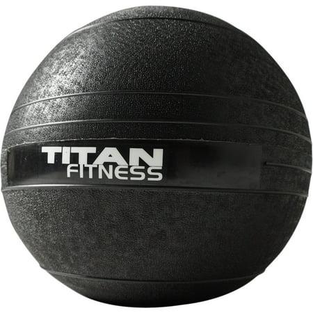 Titan Fitness 10 lb Slam Spike Ball Rubber Exercise Weight