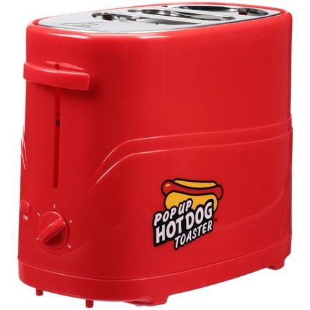 Nostalgia Pop-Up Red Hot Dog Toaster
