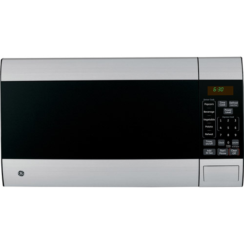 GE 1.4 cu ft Countertop Microwave, Stainless Steel