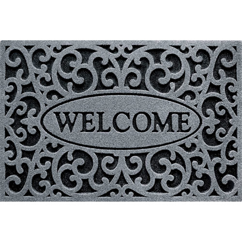 """Clean Scrape """"Welcome"""" Iron Doormat by Generic"""