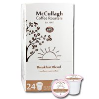 McCullagh Coffee Roasters Breakfast Blend Medium Roast Coffee (96 ct.)
