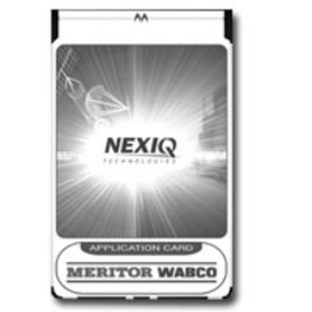 Nexiq Tech 804014 Meritor Wabco Abs Application Card