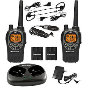 Midland GXT1000VP4 2-Way Radio Value Pack by