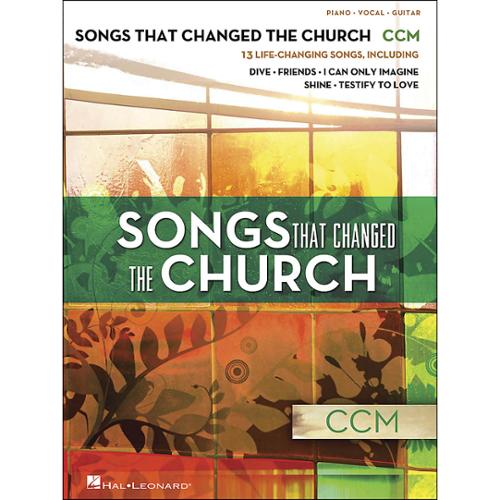 Hal Leonard Songs That Changed the Church - CCM (P/V/G)