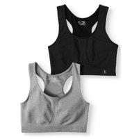 Danskin Now Womens Seamless Sportsbra, 2 pack