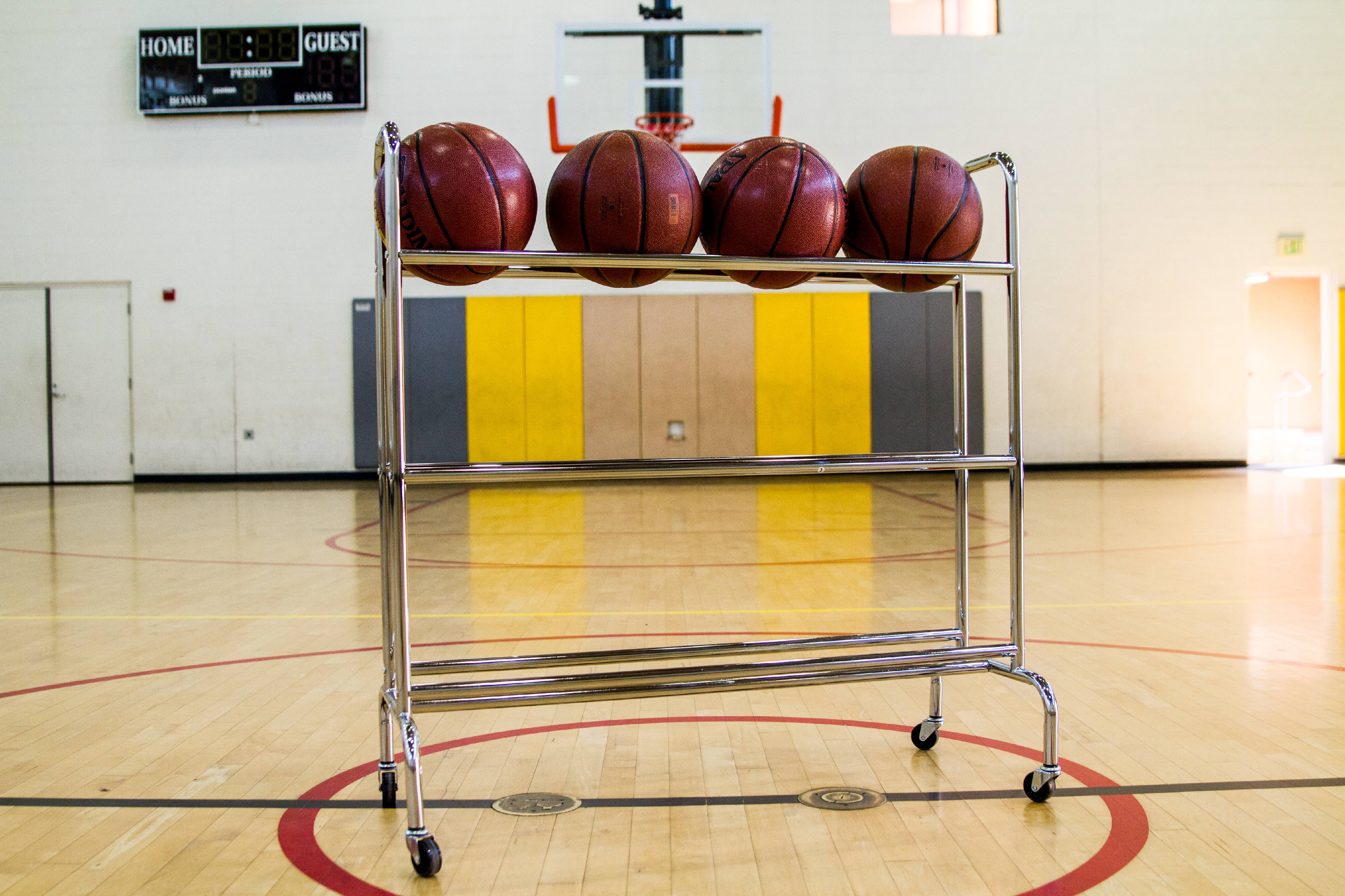 Athletic Works Basketball Cart
