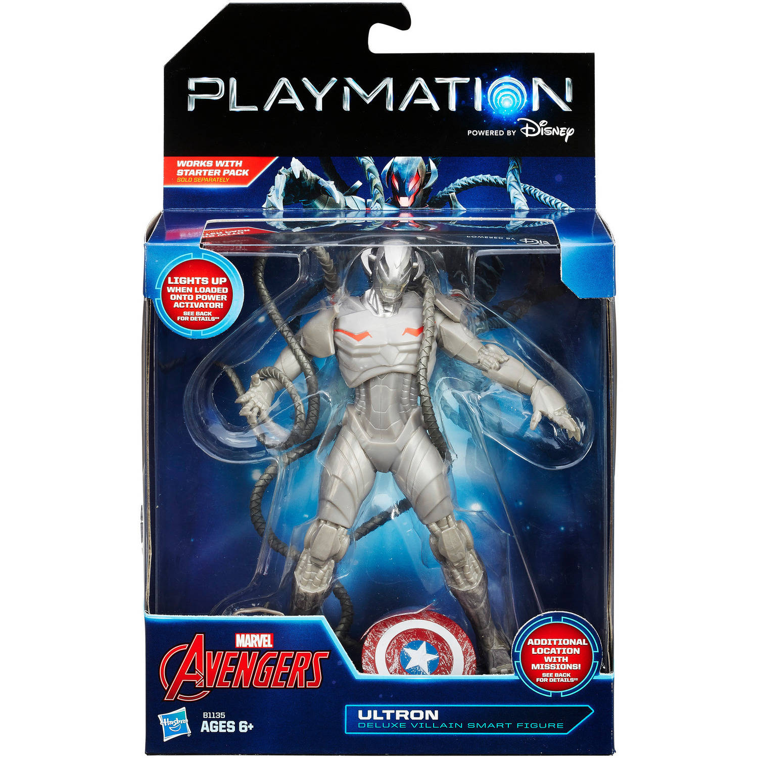Playmation Marvel Avengers Ultron Deluxe Smart Figure