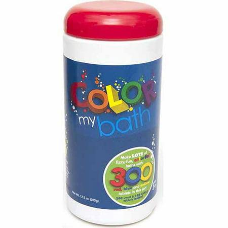 Color My Bath Color Changing Bath Tablets, 300-Count