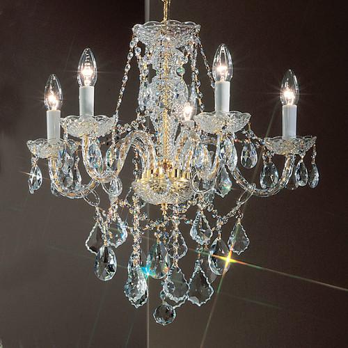Classic Lighting Monticello 5 Light Chandelier