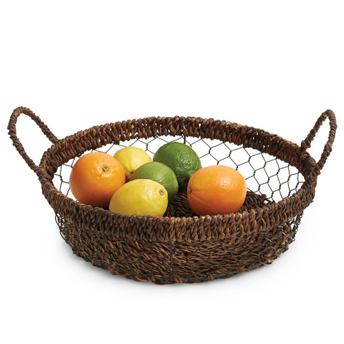 Woodard & Charles Carribbean Accents Round Tray