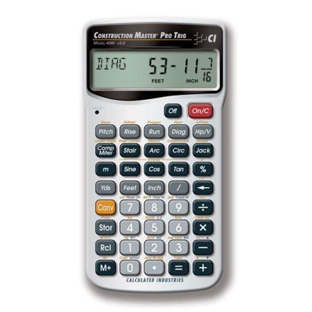 Calculated Industries Trig Calculator