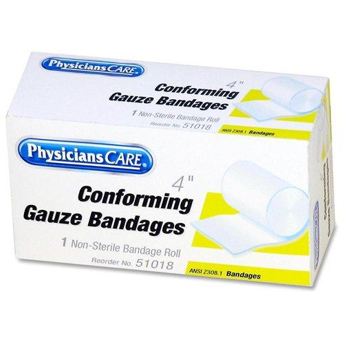 "Physicianscare Conforming Gauze - 4"" - 1 / Box (51018)"