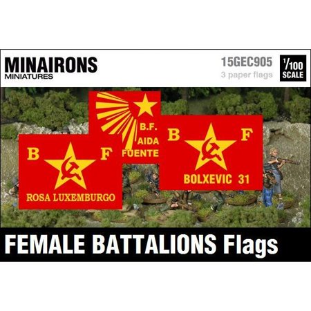 Female Battalions Flags New