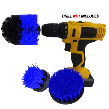 Supersellers Multi-Function Power Scrubber Brush Set Drill Brush Drill Attachment Kit for Home Cleaning Pool Tile, Flooring, Brick,