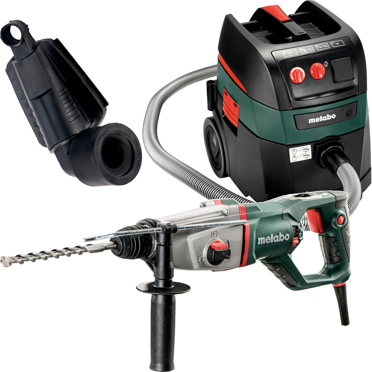"Metabo KHED-26 1"" SDS Combination Rotary Hammer Kit"