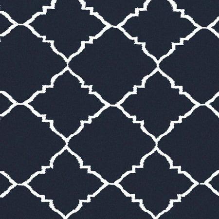 Art Of Knot Prichard Hand Woven Gate Scroll Flatweave Wool