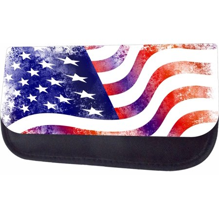 Grunge American Flag Jacks Outlet TM Pencil Case