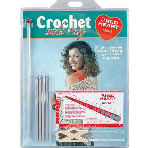 Susan Bates Crochet Made Easy Learning Kit
