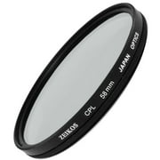 CPL POLARIZER CIRCULAR FILTER FOR CANON EOS REBEL T3 T3i (58mm Compatible)