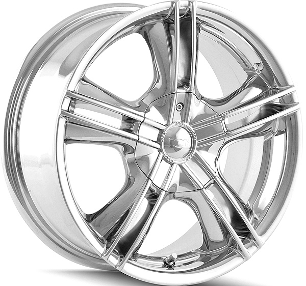 ION 161 16x7 4x100/4x114.3 +40mm Chrome Wheel Rim