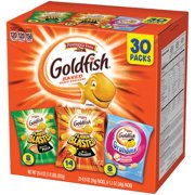 Snack Food Ideas For Halloween ((2 Pack) Pepperidge Farm Goldfish Bold Mix Crackers, 29.4 oz. Variety Pack Box, 30-count Snack)