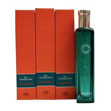 Hermes Eau D'Orange Verte Eau de Cologne Set of 3 x 0.5