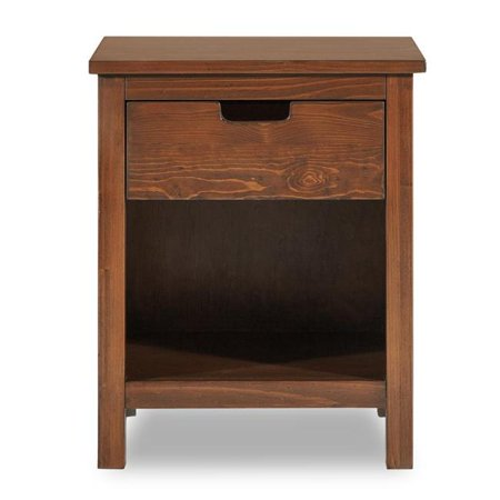 Pkolino PKFFNESTMH Nesto Side Table - Mahogany - 19.5 x 15.5 x 24.2 in.