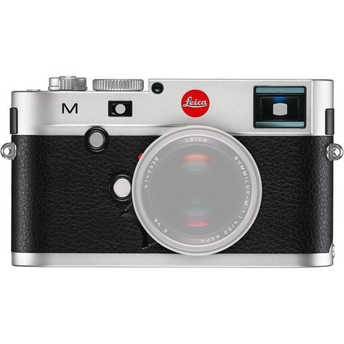 Leica 10771 M 24MP RangeFinder Camera with 3-Inch TFT LCD Screen Body Only (Silver Black) (International... by Leica