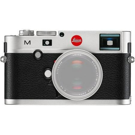 Leica M8 Rangefinder - Leica 10771 M 24MP RangeFinder Camera with 3-Inch TFT LCD Screen - Body Only (Silver/Black) (International Model) No Warranty