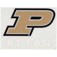 """Purdue Boilermakers 5.5"""" x 3.5"""" #1 Fan Decal"""