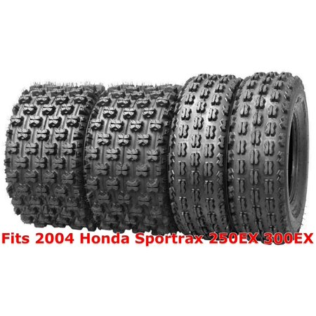 Set 4 Wanda Race ATV tires 22x7-10 & 22x10-9 2004 Honda Sportrax 250EX